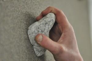 climbing hold granite