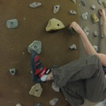 Climbing on realholds